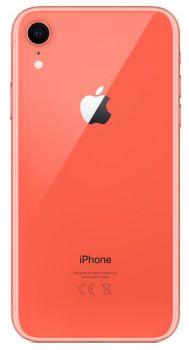 iPhone XR 128 ГБ коралловый задняя крышка
